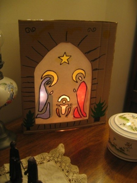 Creche photophore illuminee