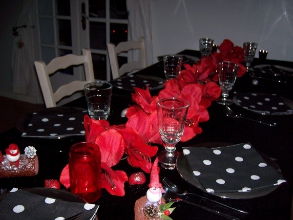 table de noel sandrine Robion