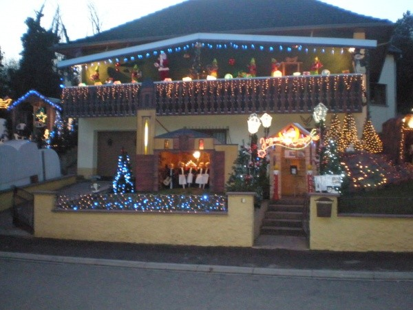 Id es vos d corations de no l patrice et jonathan for Decoration de noel en alsace
